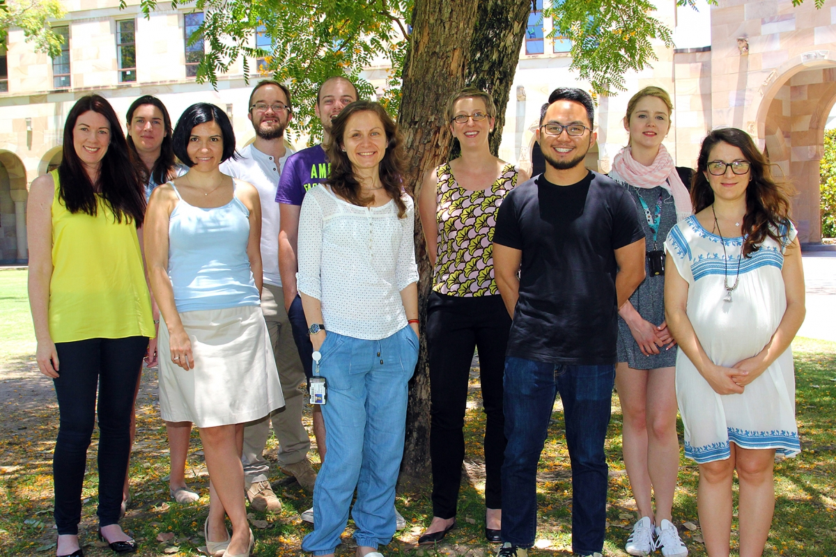 Inflammasome lab Kate Shroder group